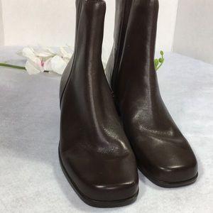 Madeline Stuart Women's Brown Leather Boot